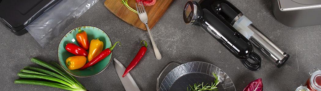 Allpax - SousVide: Schonende Garmethode. Kochen wie die Profis!