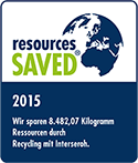 Resources saved Award