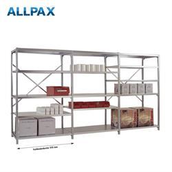 Manuflex Fachbodenregal Megaflex - Grundregal mit