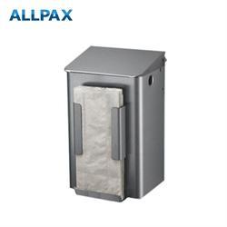 Abfallbehälter, 6 Liter, für Papiertüten