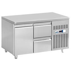 Kühltisch - 1 Tür, 2 Schubladen
