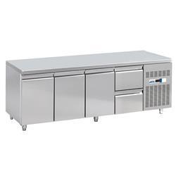 Kühltisch - 3 Türen, 2 Schubladen