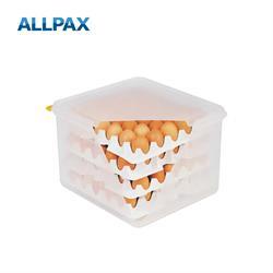Eier-Box mit 8 Einlagen für je 30 Eier, 35,4x32,5x20 cm