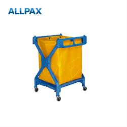 Wäschewagen Kunststoff, blau