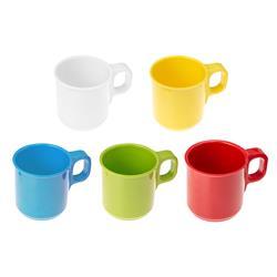 Melamin Kaffeebecher,  in 5 verschiedenen Farben