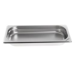 Gastronormbak 1/3 Roestvast staal, diepte 40 mm