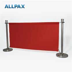 ALLPAX Café-Absperrung Set rot, 1,8 m