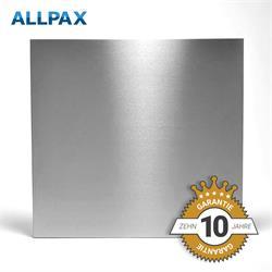 Infraroodverwarming, edelstaal, 62x62cm