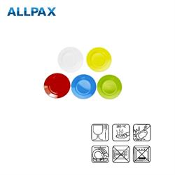 Melamin Untertasse, in 5 verschiedenen Farben
