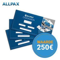 250,- euro cadeaubon
