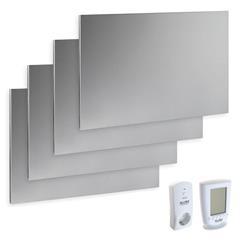 Komplettset Infrarotheizung 1200 Watt, inkl. Thermostat