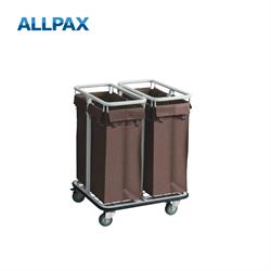 Wäschesammelwagen mit 2 Sammelkörben