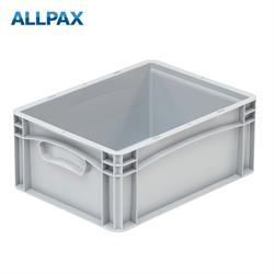 Stapelbox Industrie 400 x 300 x 170 mm Handgriffe geschlossen