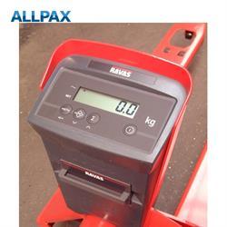 Mehrbereichsanzeige für  RAVAS Hubwagen 0,5 kg/1 kg geeicht