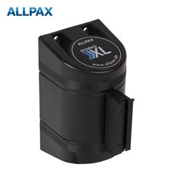 STOPPO afzetband XL voor muursysteem - trekband zwart