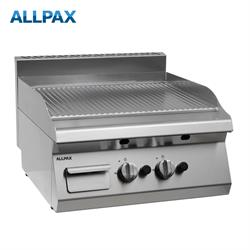 Gas Grillplatte ALLPAX 606-G, gerillt