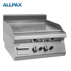 Gas Grillplatte ALLPAX 606-G, 1/2 gerillt
