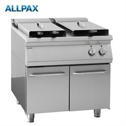 Gastro Elektro Fritteuse ALLPAX 708-E, 2 x 18 Liter