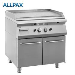 Gas Grillplatte ALLPAX 708-G, gerillt
