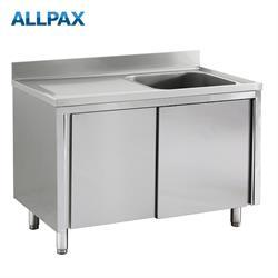 Spülschrank  Becken rechts oder links 1,2 x 0,7 m