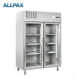Tiefkühlschrank 1390 Liter mit Glastür