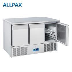 Kühltisch Edelstahl mit Aufkantung