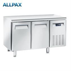 Kühltisch Edelstahl ohne Aufkantung