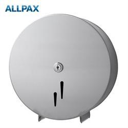 Jumbo-Toilettenpapierspender Edelstahl matt 285 x 290 x 115 mm (BxHxT)