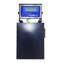 Verplaatsbare pakketweegschaal 40x50 cm met display
