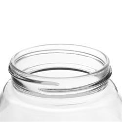 Leifheit Einkochglas 0,75 l / Vakuumbehälter Glas