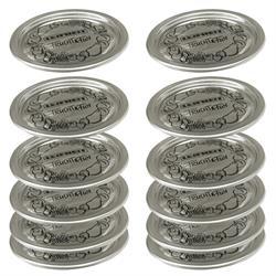 Deckel für Einkochgläser / Einmachgläser, 12 Stück