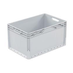 Euronorm Stapelbehälter grau ECO 600 x 400 x 320 mm
