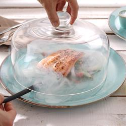 Glasglocke / Glashaube, Ø 24,5 cm