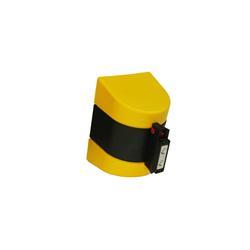 STOPPO XL Magneet Trekband , geel, trekband geel / zwart, 5 meter