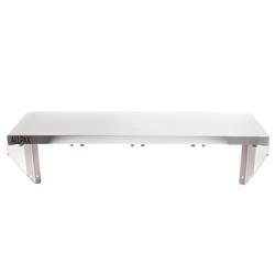 Gewürzbord / Edelstahl Wandregal für 4x GN 1/6, 80 x 30 cm