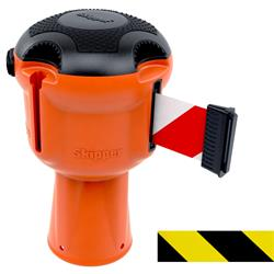 Skipper Zugbandkassette für Leitkegel, Gehäuse ABS orange, Zugband 9 m