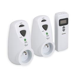 Set 3-teilig mit Thermostat, Fernbedienung + Zusatzthermostat
