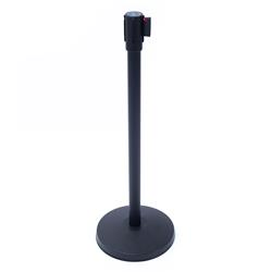Stoppo XL Abgrenzungsständer 3,5 m, schwarz schwarz