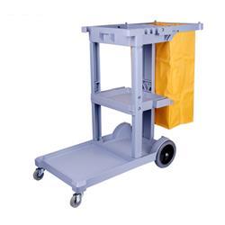 Reinigungswagen mit Wäschesack