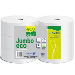 Jumbo Toilettenpapier 2-lagig, Ecogreen