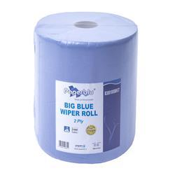 Putztuchrollen 2-lagig, blau