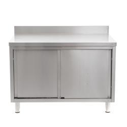 Werkkast 1200 x 700 mm - met schuifdeuren en opstaan