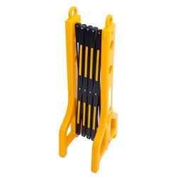 Scherengitter Kunststoff; 2,5 m, gelb