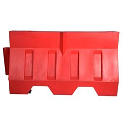 Fahrbahnteiler mit Wasser befüllbar, 50 x 80 x 120 cm