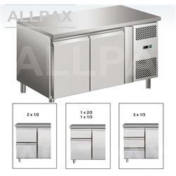 Kühltisch - 2 Türen