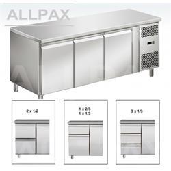 Kühltisch - 3 Türen