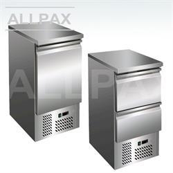 Kühltisch - SLIM 1 Tür oder 2 Schubladen