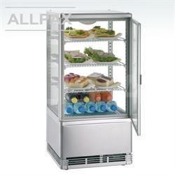 Auftischkühlvitrine mit Umluftkühlung