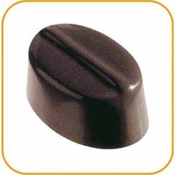 Schokoladenform Oval,  27,5x13,5 cm, 24 Stück à 8 gr.