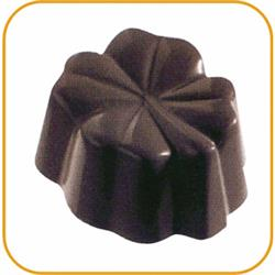Schokoladenform Klee, 27,5x13,5 cm, 24 Stück à 10 gr.